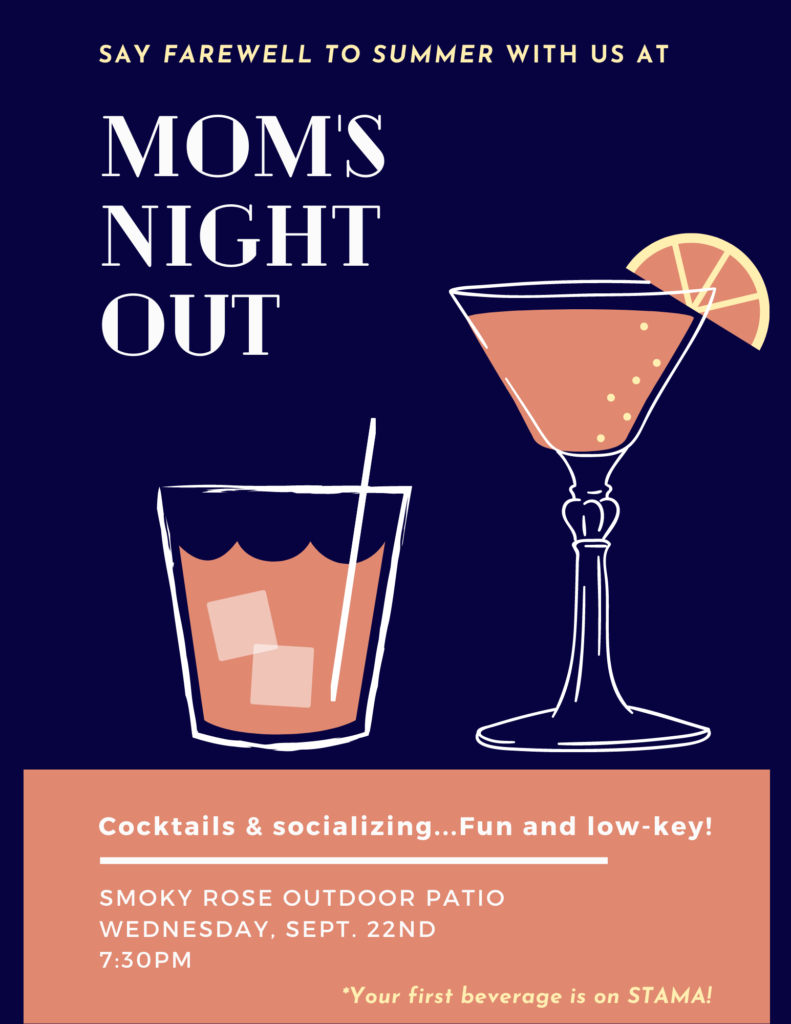 STAMA Mom's Night Out September 2021